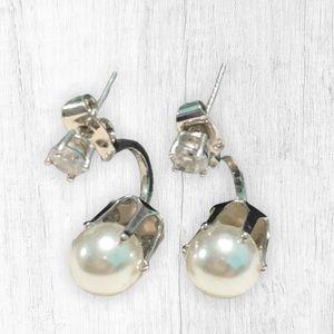 NWOT! Pearl Drop Dangle Earrings
